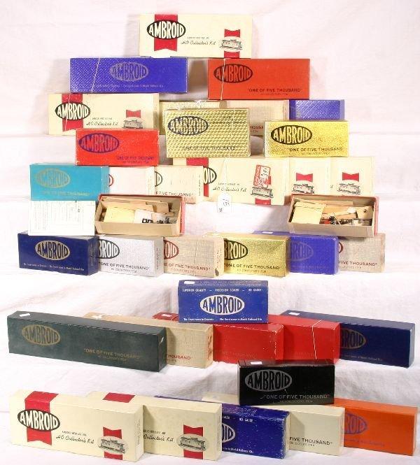 15: NETTE - 36 AMBROID HO Kits: