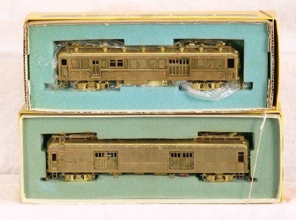 24: NETTE - 2 Boxed HO Brass SUYDAM MU Engines: