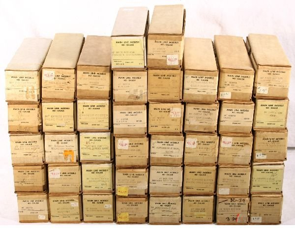 56: NETTE - 42 MAIN LINE MODELS HO Freight Kits: