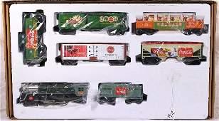234: NETTE - 7 Plus Pc. K-LINE Coke-a-Cola Train Set: