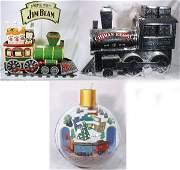 298: NETTE - 3 HALLMARK/ Chivas/Jim Beam Train Displays