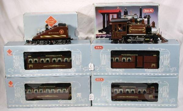 329: NETTE - 6 Pc. REA G Ga. PRR Passenger Set:
