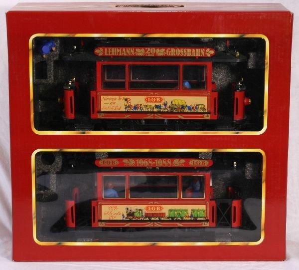 331: NETTE - LGB G Ga. 20 Year Trolley Set: