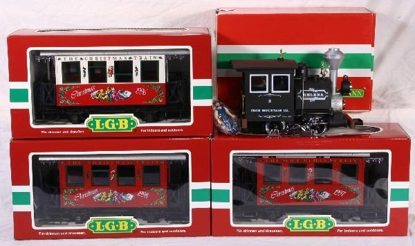 336: NETTE - 4 Pc. LGB G Ga. Christmas Set: