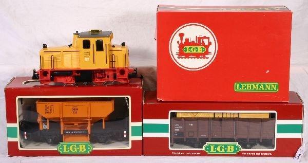 340: NETTE - 3 Pc. LGB G Ga. Freight Set: