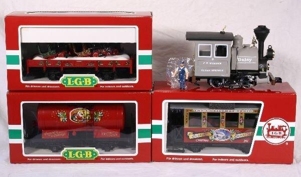 343: NETTE - 4 Pc. LGB G Ga. Christmas Set: