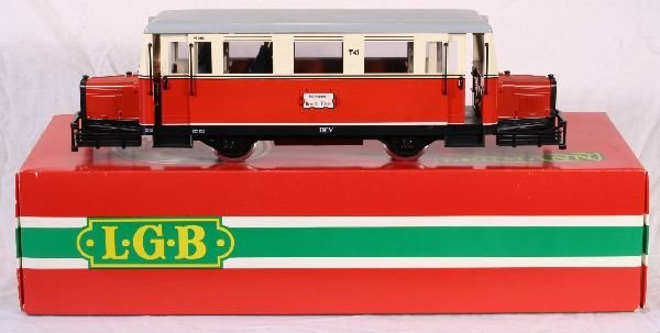 344: NETTE - LGB G Ga. 2066 Rail Bus: