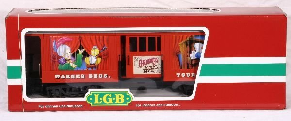 346: NETTE - LGB G Ga. 34840 Warner Bros. Baggage Car: