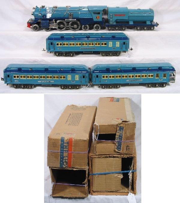 673: NETTE - Nice Boxed LIONEL Blue Comet Set: