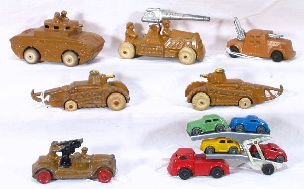 7: NETTE - 7 Barclay Vehicles: