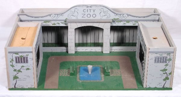 16: NETTE - Unusual Built Right City Zoo: