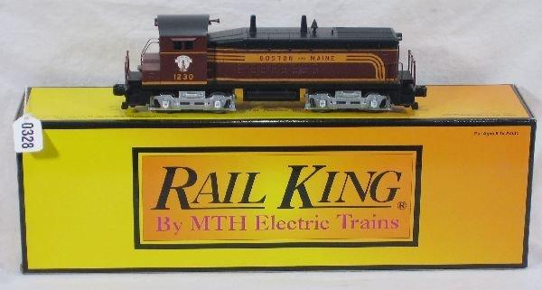 328: NETTE - MTH RailKing 30-2179 B&M SW-9 Diesel: