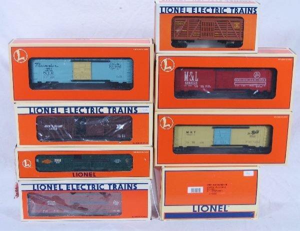 329: NETTE - 5 Pc. LTI Lot Freight Cars: