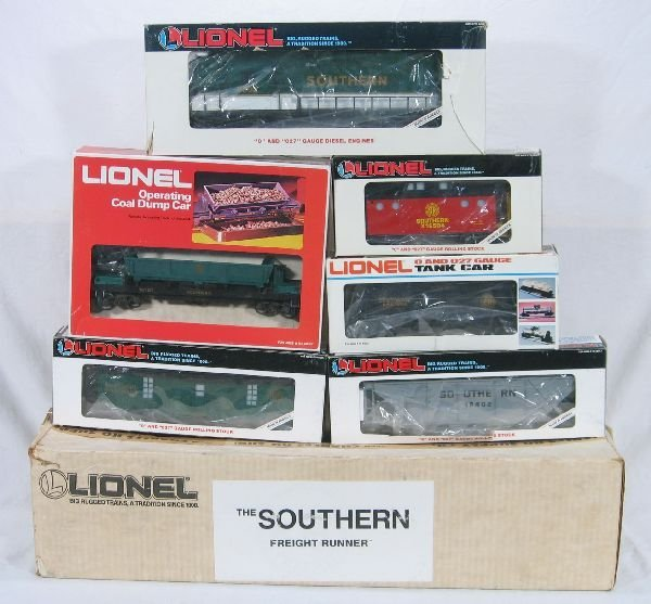 334: NETTE - LIONEL/MPC 11704 Southern Freight Set:
