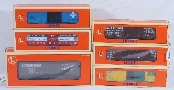 339: NETTE - 6 LTI 6464 Boxcars: