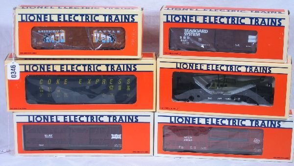 346: NETTE - 6 LTI Freight Cars: