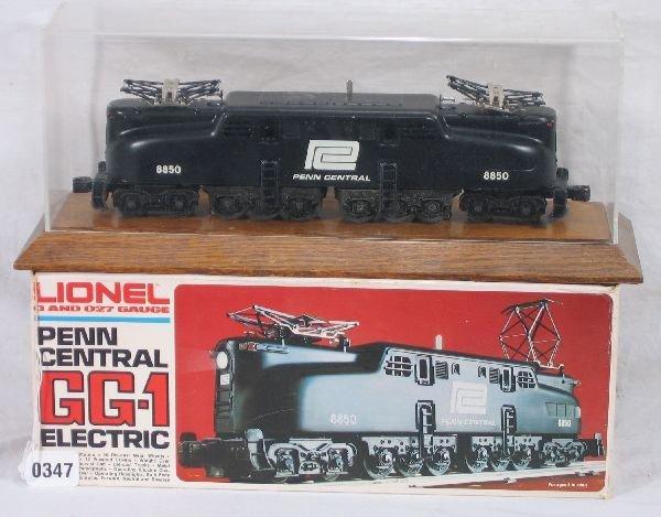 347: NETTE - LIONEL/MPC 8850 Penn Central GG1 w/Case:
