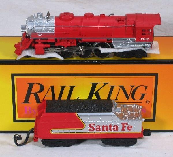 350: NETTE - MTH/RailKing 30-1201-1 SF Hudson Loco: