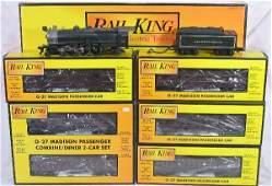 422: NETTE - 6 Pc. MTH/RailKing PRR Pass. Set: