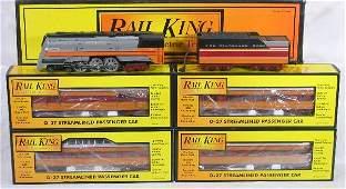 423: NETTE - 5 Pc. MTH/RailKing Hiawatha Passenger Set:
