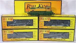 424: NETTE - 5 Pc. MTH/RailKing Reading Pass. Set: