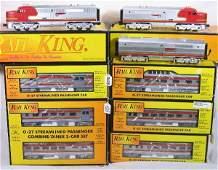 428: NETTE - 7 Pc. MTH/RailKing SF Pass. Set: