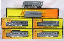 486: NETTE - 5 Pc. MTH/RailKing NYC Pass. Set: