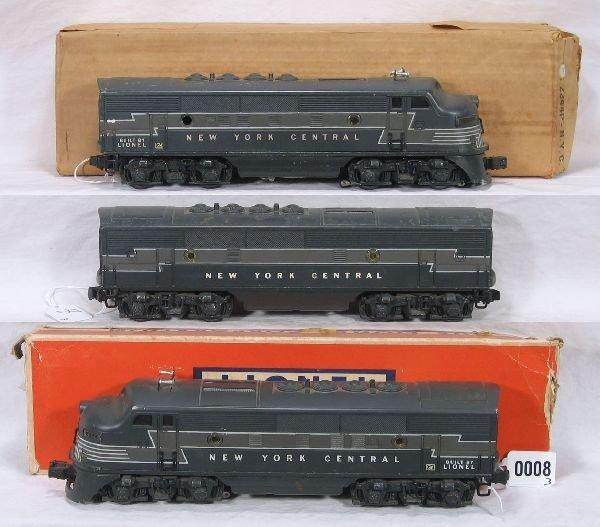 8: NETTE - LIONEL 2344 NYC ABA Diesels:
