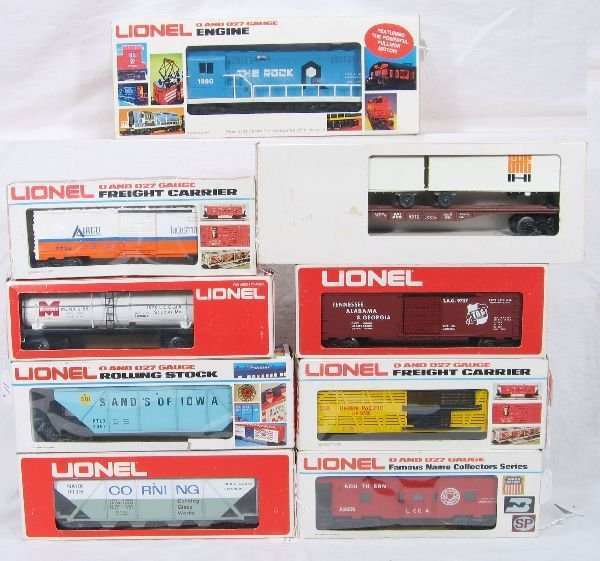 11: NETTE - 9 Pc. LIONEL/MPC LCCA Freight Set: