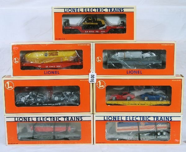 16: NETTE - 7 LTI Freight Cars: