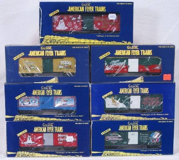 98: NETTE - 7 AM FLYER/LTI Christmas Cars, S Ga: