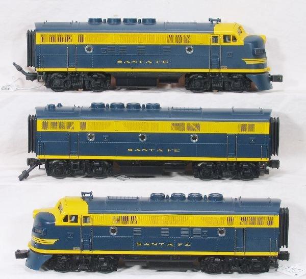 120: NETTE - MTH SF F3 ABA Diesels: