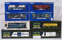 124: NETTE - WEAVER/IDM/ATLAS Freight Cars: