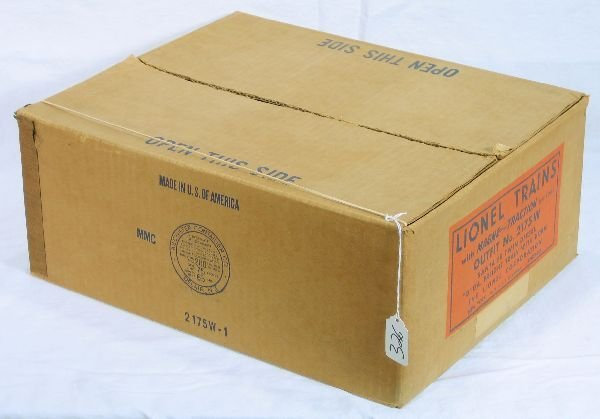326: NETTE - Bricky LIONEL Set Box for 2175W: