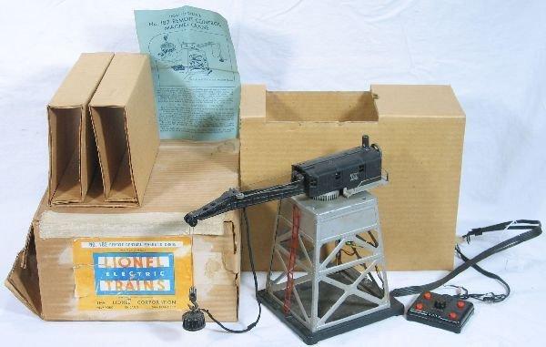 344: NETTE - Boxed LIONEL 182 Magnetic Crane:
