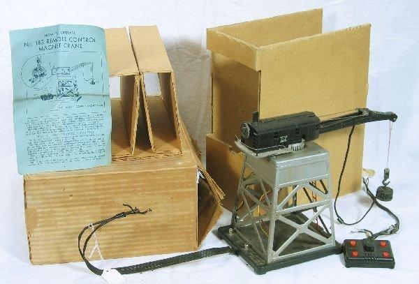 344: NETTE - Boxed LIONEL 182 Magnetic Crane: - 2