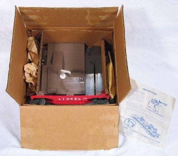 345: NETTE - Mint Boxed LIONEL 464 Forklift Set: