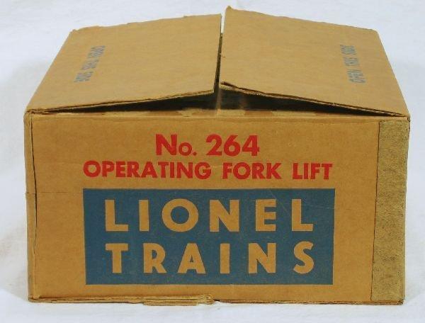 345: NETTE - Mint Boxed LIONEL 464 Forklift Set: - 2