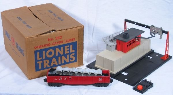 346: NETTE - Boxed LIONEL 342 Culvert Loader: