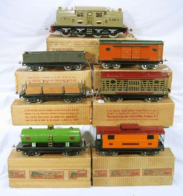 857: NETTE - Fantastic Boxed  8 Pc. LIONEL 402E Set:
