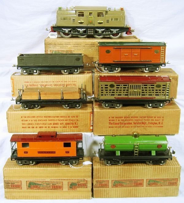 857: NETTE - Fantastic Boxed  8 Pc. LIONEL 402E Set: - 2