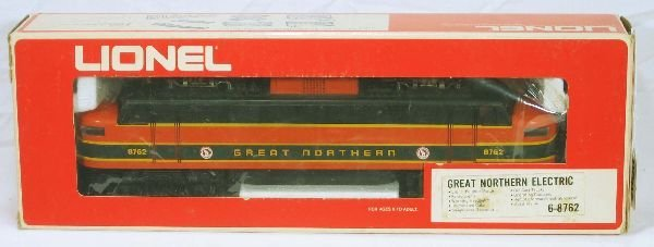 8: NETTE - LIONEL/MPC 8762 GN EP-5 Electric: