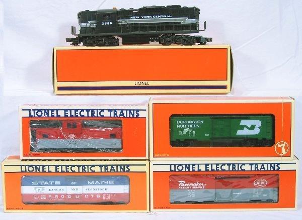 20: NETTE - 5 Pc. LTI NYC Freight Set: