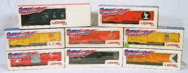21: NETTE - Tough LIONEL/ MPC Early Freight Cars: