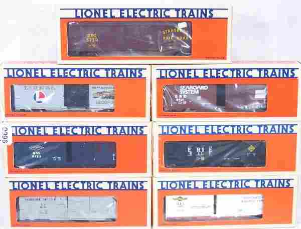NETTE - 7 LTI Freight Cars