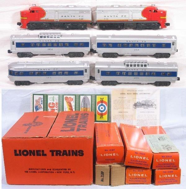329: NETTE - Super Boxed LIONEL Set 1651: