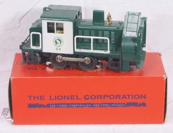 331: NETTE - Super Boxed LIONEL 58 Rotary Plow: