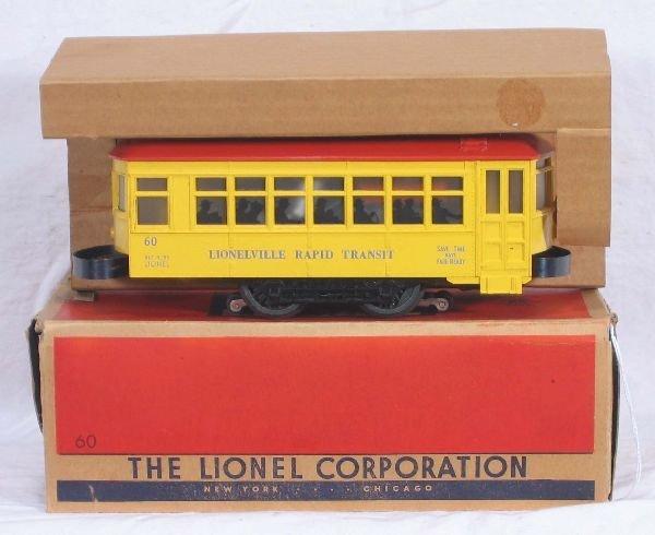 335: NETTE - Boxed LIONEL 60 Trolley: