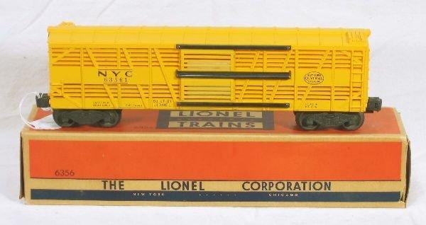 337: NETTE - Mint Boxed LIONEL 3656 Stock Car: