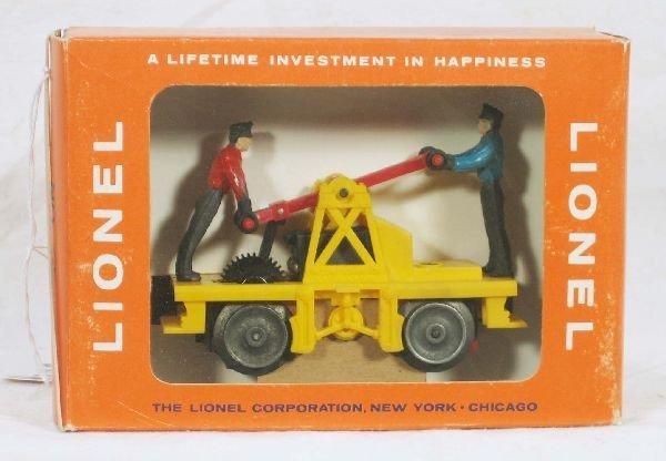 344: NETTE - Mint Boxed LIONEL 69 Hand Car: